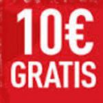 10€ gratis sportium