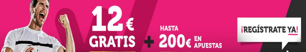 12€ gratis para apuestas deportivas con tu registro en Wanabet