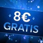 8€ gratis 888 poker