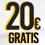 Marca Apuestas bono 20€.