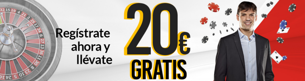 20€ gratis con tu registro en Marca Apuestas