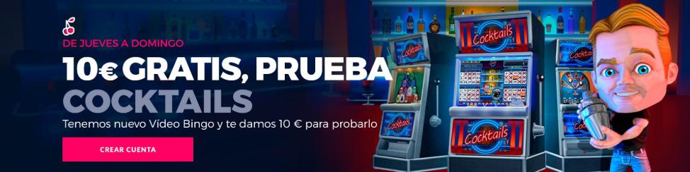 10€ GRATIS PARA COCKTAILS EN CASINO GRAN MADRID