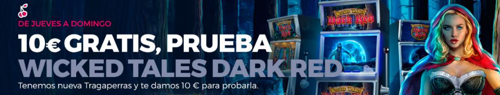 10€ gratis en casino gran madrid para Wicked Tales