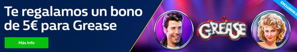 Bono de 5€ para grease