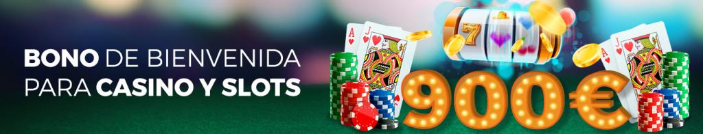 Bono de bienvenida casino y slot Pastón
