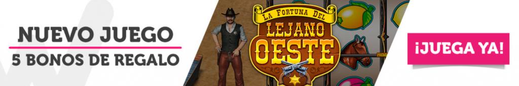 La fortuna del lejano oeste