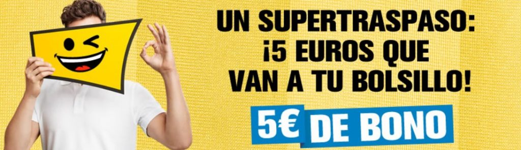 5€ gratis en interwetten para apuestas deportivas