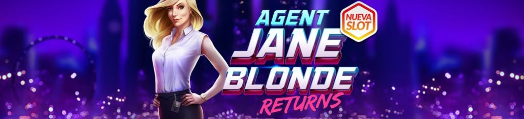 giros gratis en Casino Barcelona para Agent Jane Blonde returns